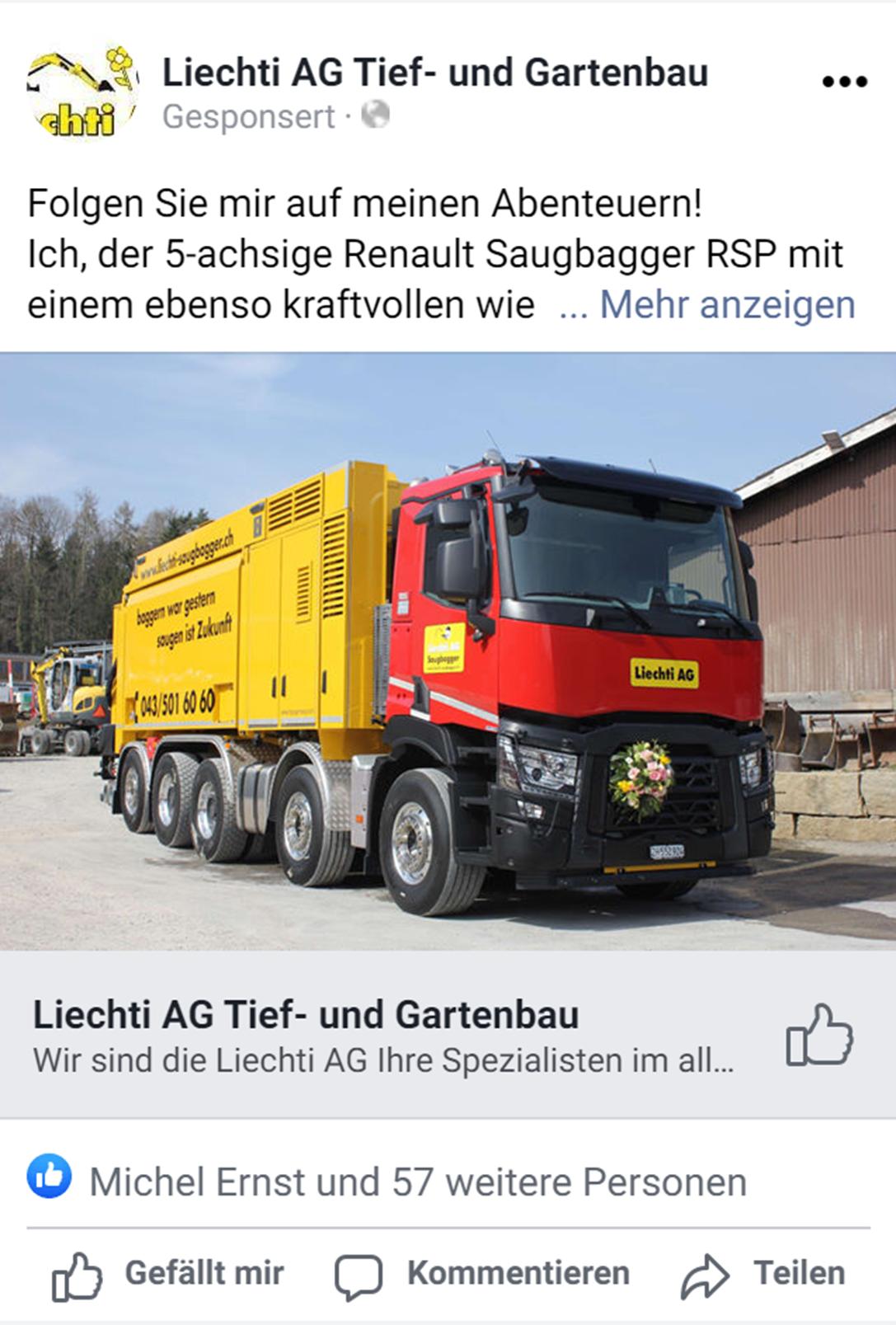 Facebook - Liechti AG